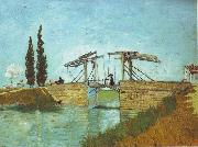 Bridge at Arles, Vincent Van Gogh