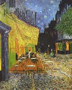 The CafeTerrace on the Place du Forum, Arles, at Night September, Vincent Van Gogh