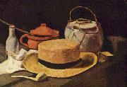 Still Life, arranged by Anton Mauve and executed, Vincent Van Gogh