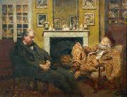 Walter Sickert Henry Tonks. oil painting