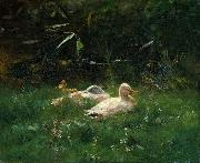 Willem Maris Ducks oil painting