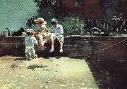 Boys and kittens, Winslow Homer