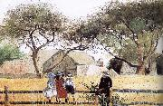 Winslow Homer Children on the wall oil painting on canvas