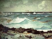Coast mad wolf, Winslow Homer