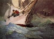 Diamond a good death, Winslow Homer