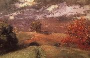 Autumn in New York mountain, Winslow Homer