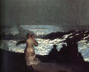 A summer night, Winslow Homer