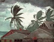 Winslow Homer Hurricane oil painting reproduction