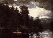 A first Lenk Lake, Winslow Homer