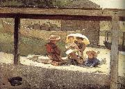 Winslow Homer To look after a child oil painting reproduction