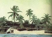 Black Lodge, Winslow Homer