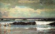Beach, Winslow Homer