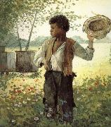 Busy Bee, Winslow Homer
