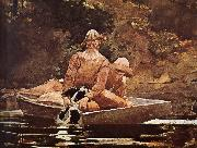 After hunting, Winslow Homer
