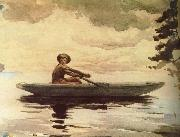 Boating people, Winslow Homer
