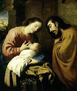 ZURBARAN  Francisco de The Holy Family oil painting reproduction