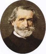 giuseppe verdi the greatest italian opera composer of the 19th century oil painting on canvas