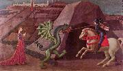 paolo uccello The Princess and the Dragon, oil painting reproduction
