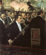 samuel taylor coleridge the bassoon player of the orchestra of the paris opera in 1868. oil painting