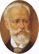 tchaikovsky the most popular Russian composer oil painting reproduction