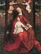 Virgin and Child Crowned by Two Angels