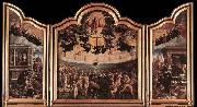 unknow artist The Last Judgment oil painting reproduction