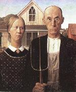 grant woods malning american gothic