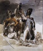 unknow artist Wounded Soldiers Retrating from Russia oil painting reproduction