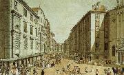 william wordsworth vienna in the 18th century a view of one of its streets, the kohlmarkt oil painting on canvas