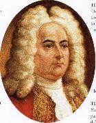 wolfgang amadeus mozart george frideric handel oil painting