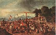Crucifixion, BRUEGHEL, Pieter the Younger