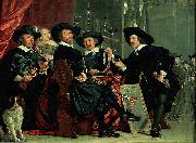 Governors of the archers' civic guard, Amsterdam, Bartholomeus van der Helst