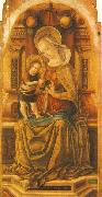 Virgin and Child Enthroned around