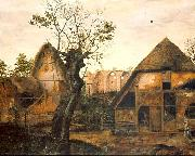 Cornelis van Dalem Landscape with Farm oil painting