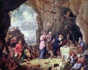 David Teniers the Younger The Temptation of St. Anthony oil painting