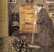 Edouard Vuillard The woman oil painting reproduction