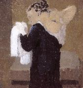 Lady is being scrubbed of Vial, Edouard Vuillard
