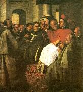 Francisco de Zurbaran buenaventura at the council of lyon oil painting reproduction