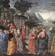 Calling of the First Apostles, GHIRLANDAIO, Domenico