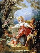 The Blind man bluff game, Jean-Honore Fragonard