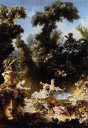 The Progress of Love: The Pursuit, Jean-Honore Fragonard