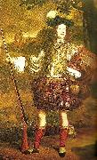 John Michael Wright unknown scottish chieftain, c. oil painting