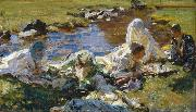 John Singer Sargent Dolce Far Niente oil painting reproduction
