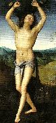 Pietro Perugino st sebastian oil painting reproduction