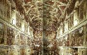 Raphael the sistine chapel oil painting reproduction