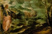Christ at the Sea of Galilee, Tintoretto