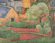 a farm at le pouldu, unknow artist
