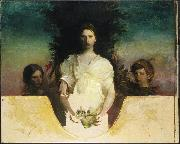 Abbott Handerson Thayer My Children oil painting reproduction