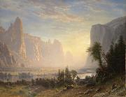 Albert Bierstadt Valley of the Yosemite oil painting reproduction