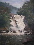 Almeida Junior Votorantim Falls oil painting reproduction